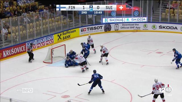 Hockey: la Suisses s'est qualifiée pour les demi-finales face à la Finlande [RTS]