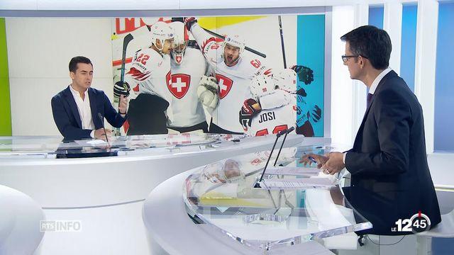 Hockey: analyse de Brian Wakker [RTS]