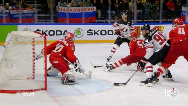 Hockey: la Suisse s'apprête à affronter le Canada en demi-finale [RTS]