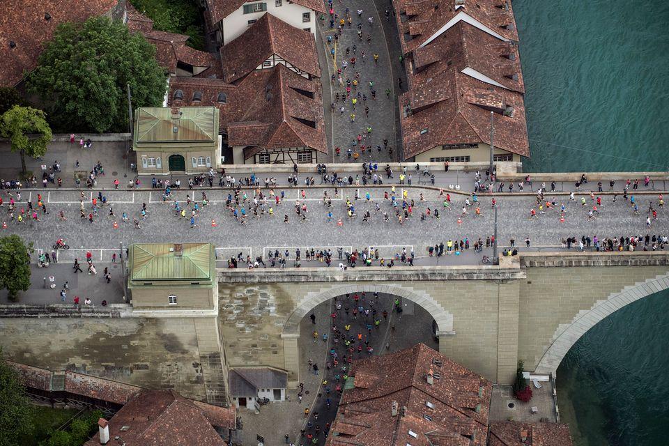 Le Grand Prix de Berne a connu un beau succès populaire. [Peter Schneider - Keystone]