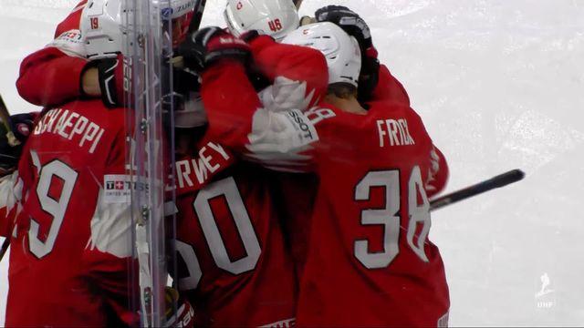 1-2 finale, Canada - Suisse (2-3): tous les buts de l'exploit suisse! [RTS]