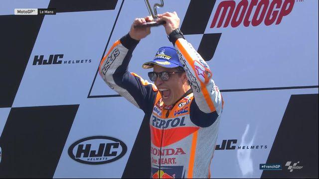 Moto GP, GP du Mans (FRA): victoire de Marques (ESP) devant Petrucci (ITA) 2e et Rossi (ITA) 3e [RTS]