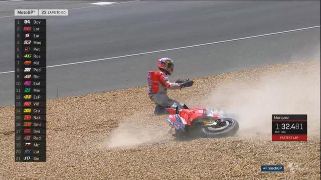 Moto: Marc Marquez creuse l'écart, Lüthi hors des points [RTS]
