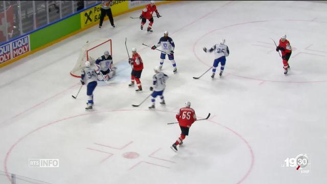 Hockey sur glace : La Suisse en finale de la coupe du monde affronte ce soir la Suède à Copenhague [RTS]