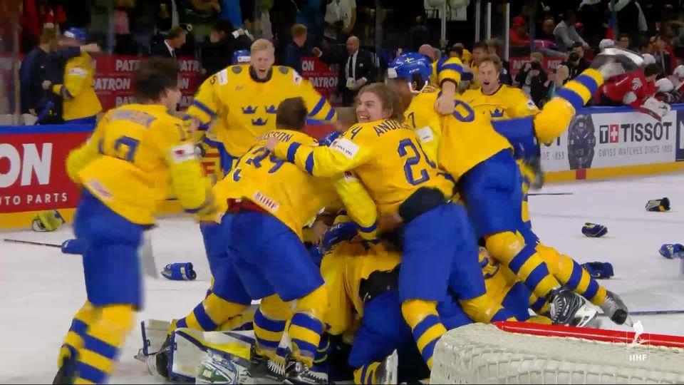 Finale, Suède - Suisse 2-2: les Suisses s'inclinent aux tirs au but 2-1 [RTS]