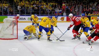 Mondiaux de Hockey: la Suisse échoue en finale face à la Suède [RTS]