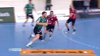 Finale, messieurs 4ième partie Pfadi Winterthur - Wacker Thoune (23-24): Wacker Thoune remporte les Play-offs [RTS]