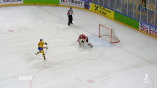 Hockey - Mondiaux: la Suisse s'incline de peu face à la Suède en finale [RTS]