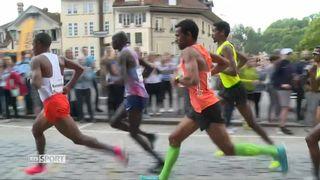 Athlétisme: Kenenisa Bekele bat Tadesse Abraham au Grand Prix de Berne [RTS]