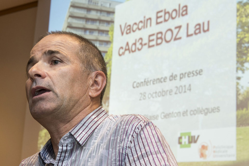 Professor Blaise Genton.