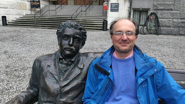 M. Jean-Paul Kneib, directeur du laboratoire d'astrophysique de l'EPFL