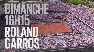 Bande-annonce: Internationaux de France de Roland Garros du 27.05.2018 [RTS]