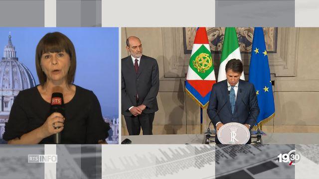 Le face à face entre deux Italie: les précisions de Valérie Dupont (1-2) [RTS]