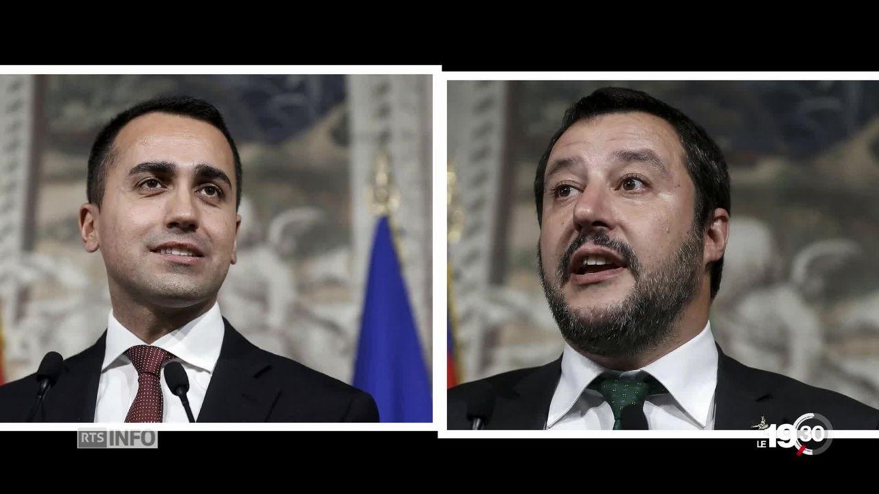 Portrait des nouveaux maîtres de l'Italie [RTS]