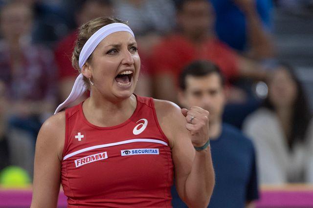 La Suissesse Timea Bacsinszky affrontera une joueuse issue des qualifiées [Georgios Kefalas - Keystone]