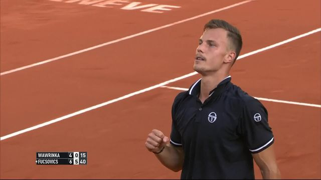 1-4 de finale, S. Wawrinka (SUI) - M. Fucsovics (HUN) (4-6, 0-6): défaite de Stan Wawrinka face à Fucsovics [RTS]