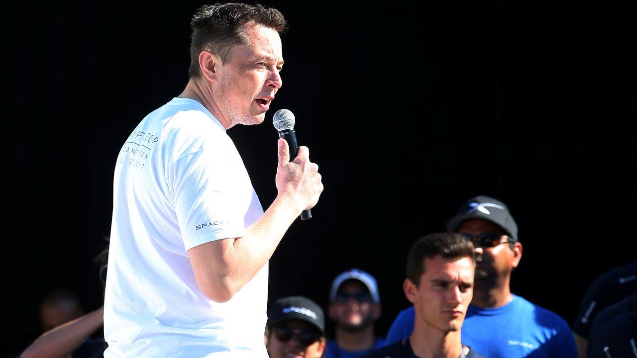 Elon Musk, fondateur et PDG de la société SpaceX. [Mike Blake - Reuters]