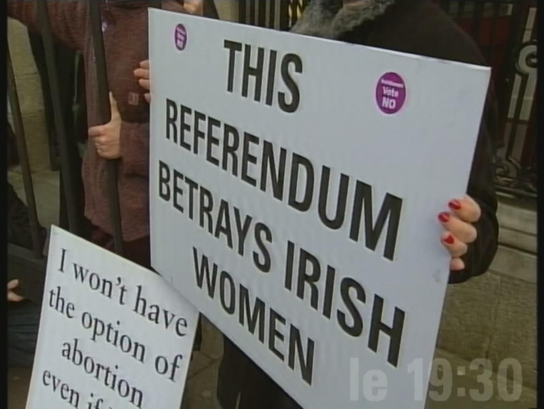 La question de l'avortement divise l'Irlande