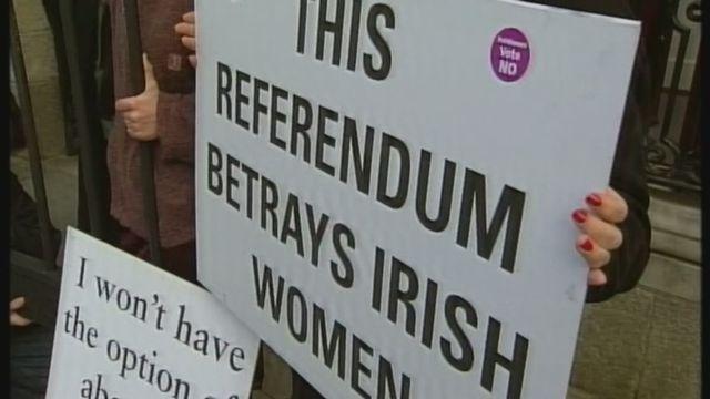 La question de l'avortement divise l'Irlande [RTS]