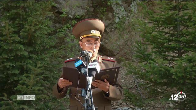 La Corée du Nord a démantelé son site d'essais nucléaires [RTS]
