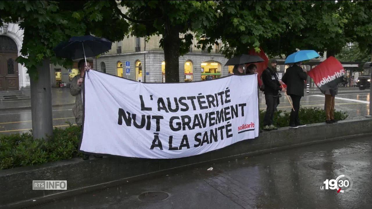 Fribourg: soignants en grève pour ne pas perdre leur statut de fonctionnaire [RTS]