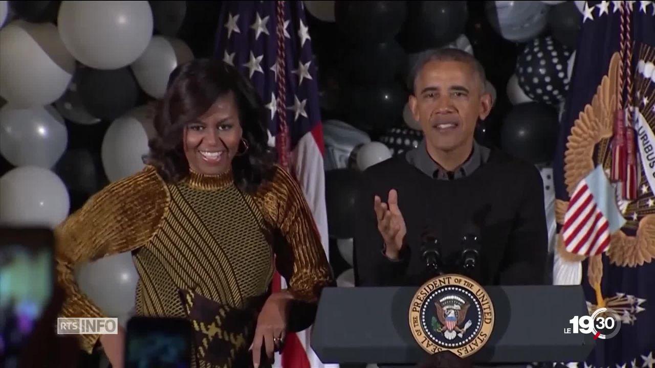 Audiovisuel: le couple Obama va collaborer avec Netflix [RTS]