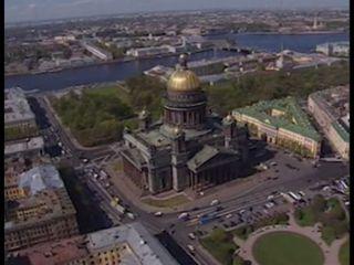 Vues aériennes de Saint-Pétersbourg (29.05.2003) [RTS]