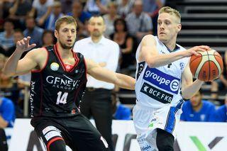 Jaunin et les Fribourgeois ont entamé comme il se doit la finale face aux Lions de Genève. [Laurent Gilliéron - Keystone]