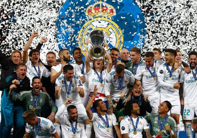 Les Madrilènes règnent sur l'Europe depuis trois saisons. [Matthias Schrader - Keystone]