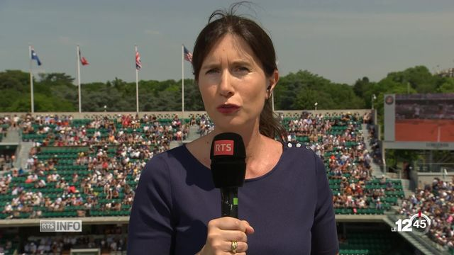 Tennis - Roland Garros: le tournoi débute dans des conditions excellentes [RTS]