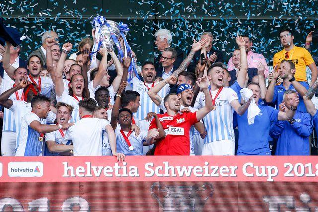 Zurich remporte sa dixième Coupe de Suisse en onze finales. [Marc Schumacher - Freshfocus]