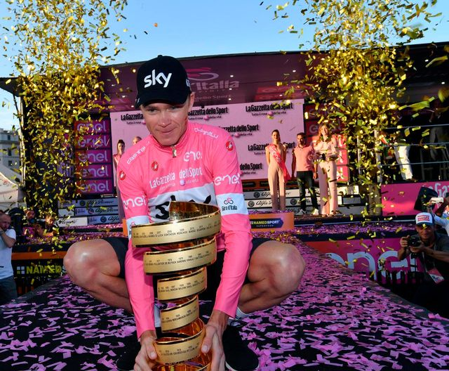 Froome remporte son premier Giro. [Daniel Dal Zennaro - Keystone]