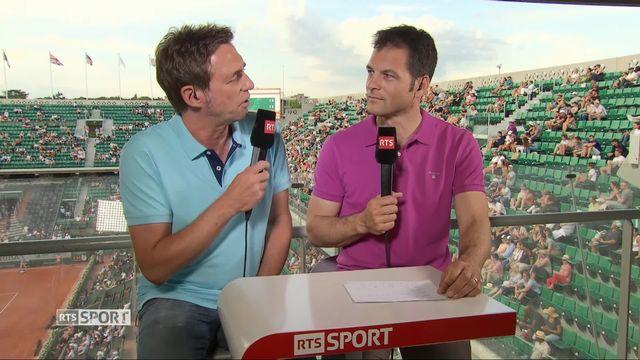 Tennis: la quinzaine de Roland-Garros s'ouvre [RTS]