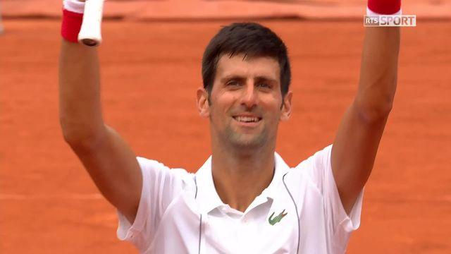 1er tour, R.Dutra Silva (BRA) – N.Djokovic (SRB) 3-6, 4-6, 4-6: Djokovic s'impose en 3 manches [RTS]
