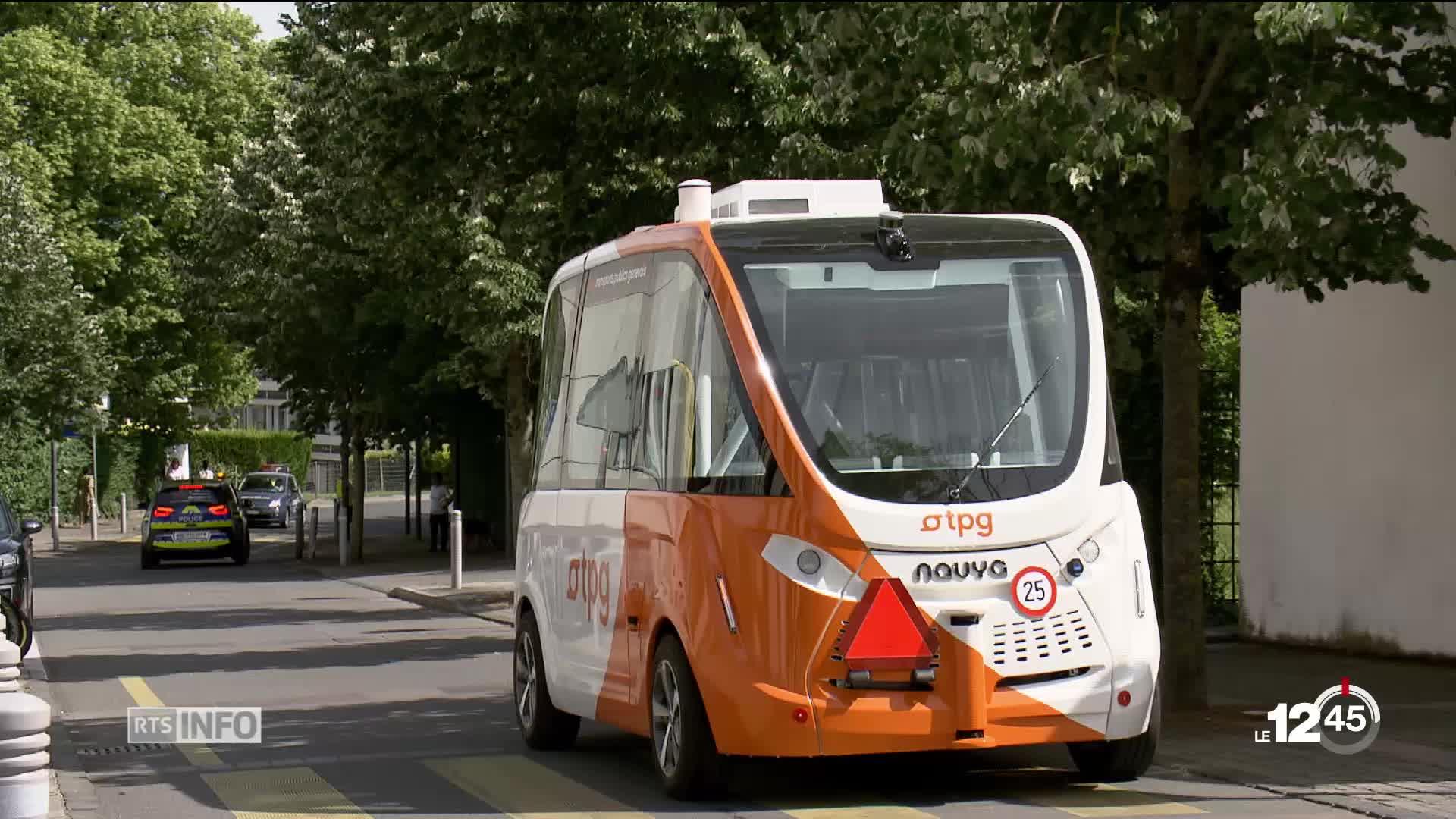les tpg ont le feu vert pour exploiter un bus autonome. Black Bedroom Furniture Sets. Home Design Ideas