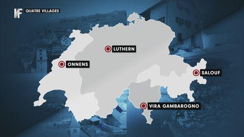 Quatre villages - un pays