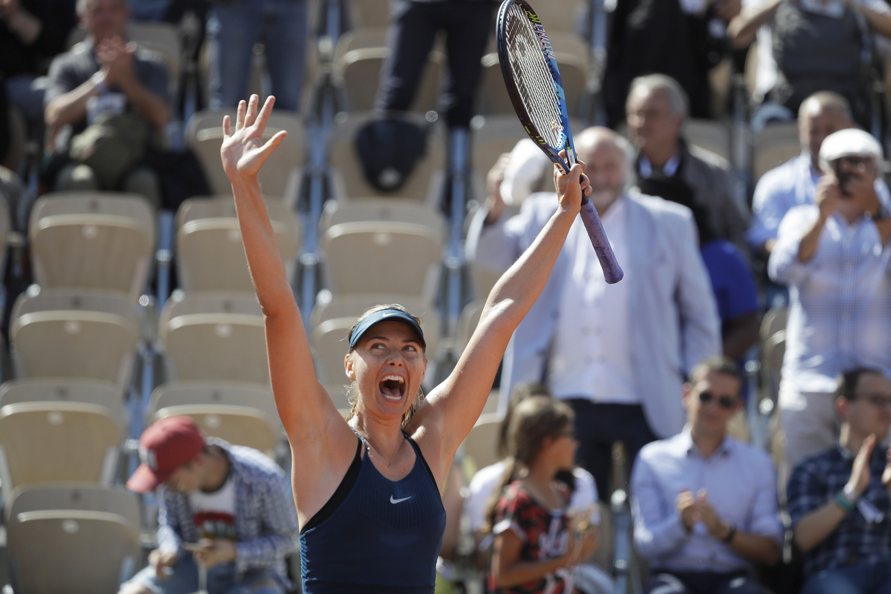 Maria Sharapova signe un retour victorieux — Roland-Garros