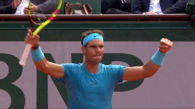 1er tour, R.Nadal (ESP) – S.Bolelli (ITA) 6-4, 6-3, 7-6: Nadal s'impose en 3 sets [RTS]