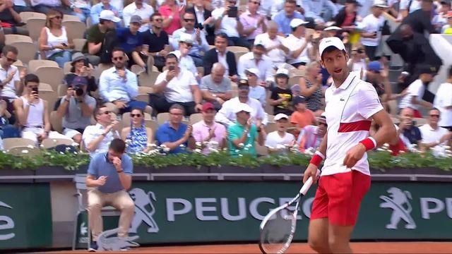 2e tour, J.Munar (ESP) – N.Djokovic (SRB) 6-7, 4-6, 4-6: Djokovic se qualifie pour le 3e tour [RTS]