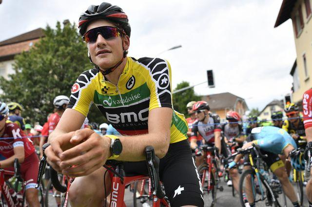 Stefan Küng lors du Tour de Suisse 2017. [Gian Ehrenzeller - Keystone]