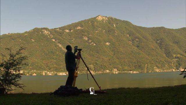 Alain Wicht est le responsable des frontières suisses sur les cartes topographiques [RTS]