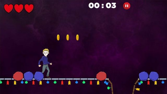 "Capture d'écran du jeu ""Genome jumper"" de l'Institut Suisse de Bioinformatique. sib.swiss [sib.swiss]"