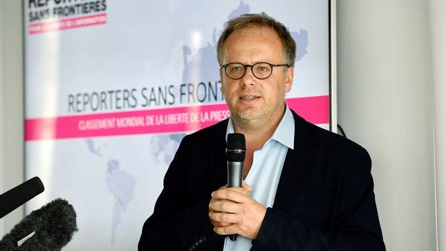 Christophe Deloire, secrétaire général de Reporters sans frontières. [Bertrand Gay - AFP]