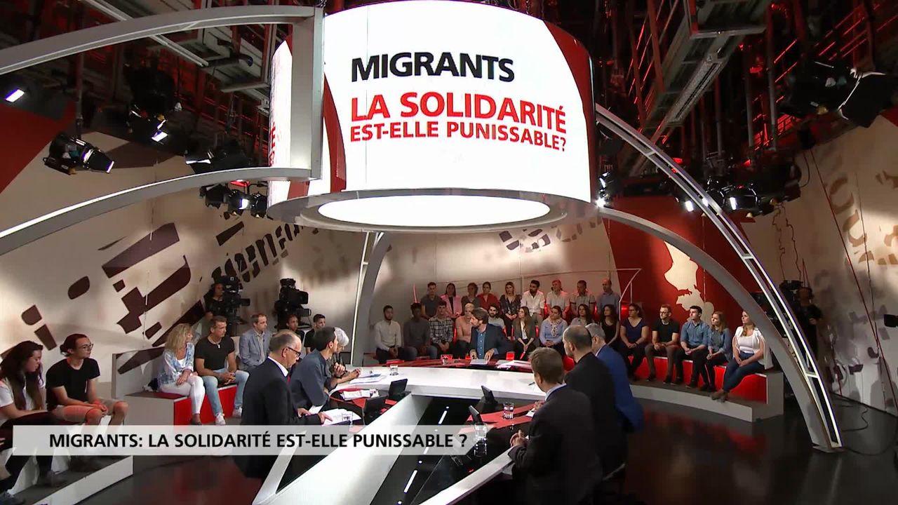 Migrants: la solidarité est-elle punissable? [RTS]