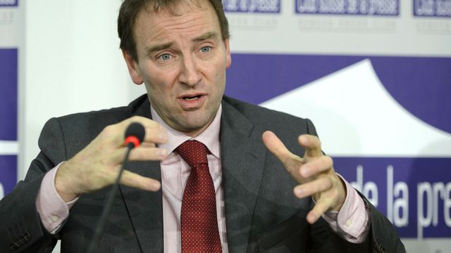 Cédric Dupont, professeur à l'Institut de hautes études internationales et du développement (IHEID). [Martial Trezzini - Keystone]