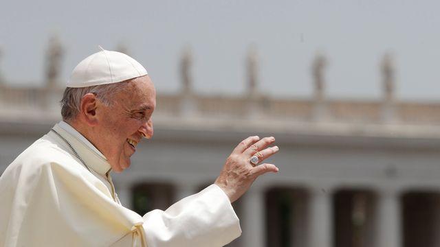 Le pape François conduira une messe devant 41'000 personnes à Palexpo. [Gregorio Borgia - AP Photo / Keystone]
