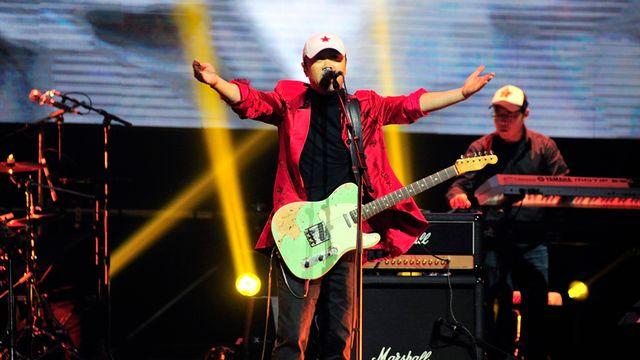 Le chanteur et pionnier du rock chinois Cui Jian. [Cui Jian - www.cuijian.com]