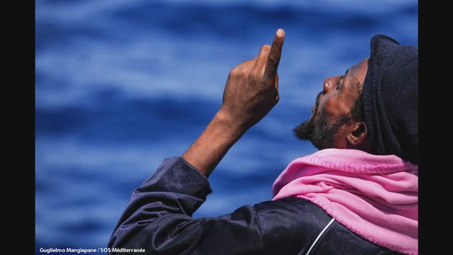 Guglielmo, photojournaliste en mer [RTS]