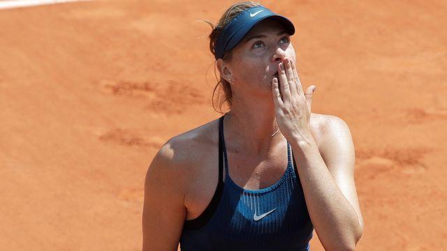 Maria Sharapova est en 2e semaine de Rolang Garros. [Alessandra Tarantino - Keystone]