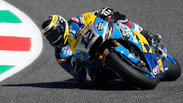 Thomas Luethi partira à la 19e position au départ du GP d'Italie. [Claudio Giovannini - Keystone]